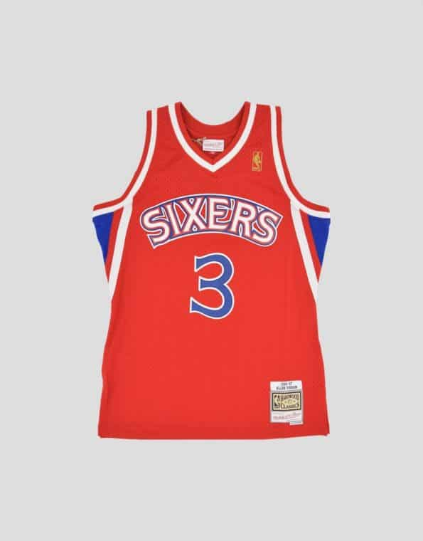 m&n sixers iverson jsy front