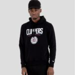 new era clippers team logo hoodie